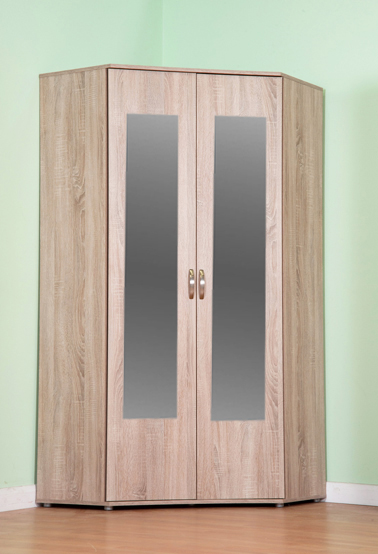Chester Standard Corner Wardrobe With Sonoma Light Oak Option M1170