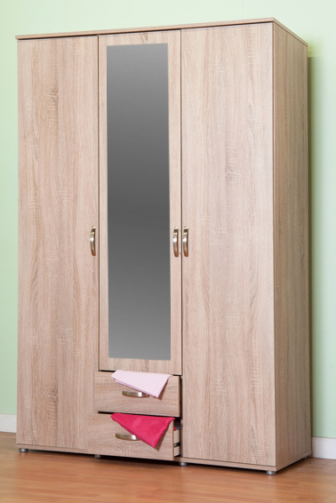 door wardrobe with drawers chester three door 2 drawer m0320 4