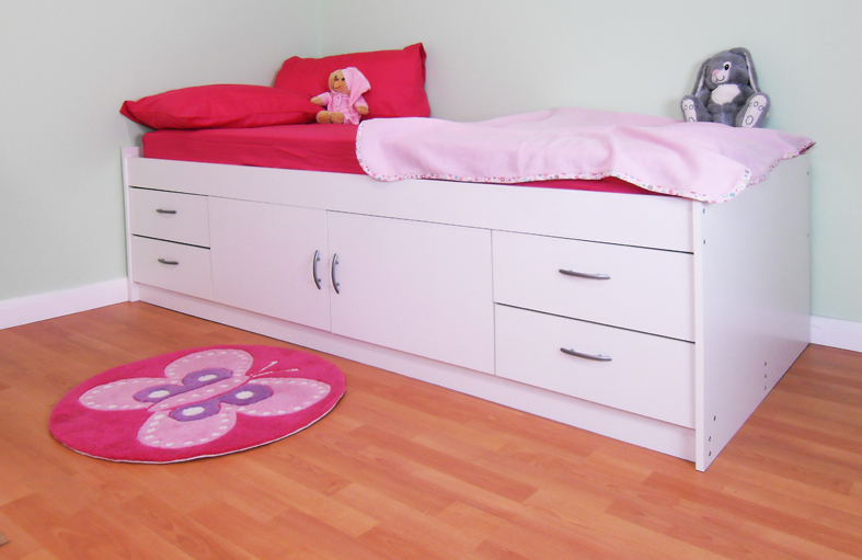 Cabin bed with Colour options ideal children safe bed Gamma