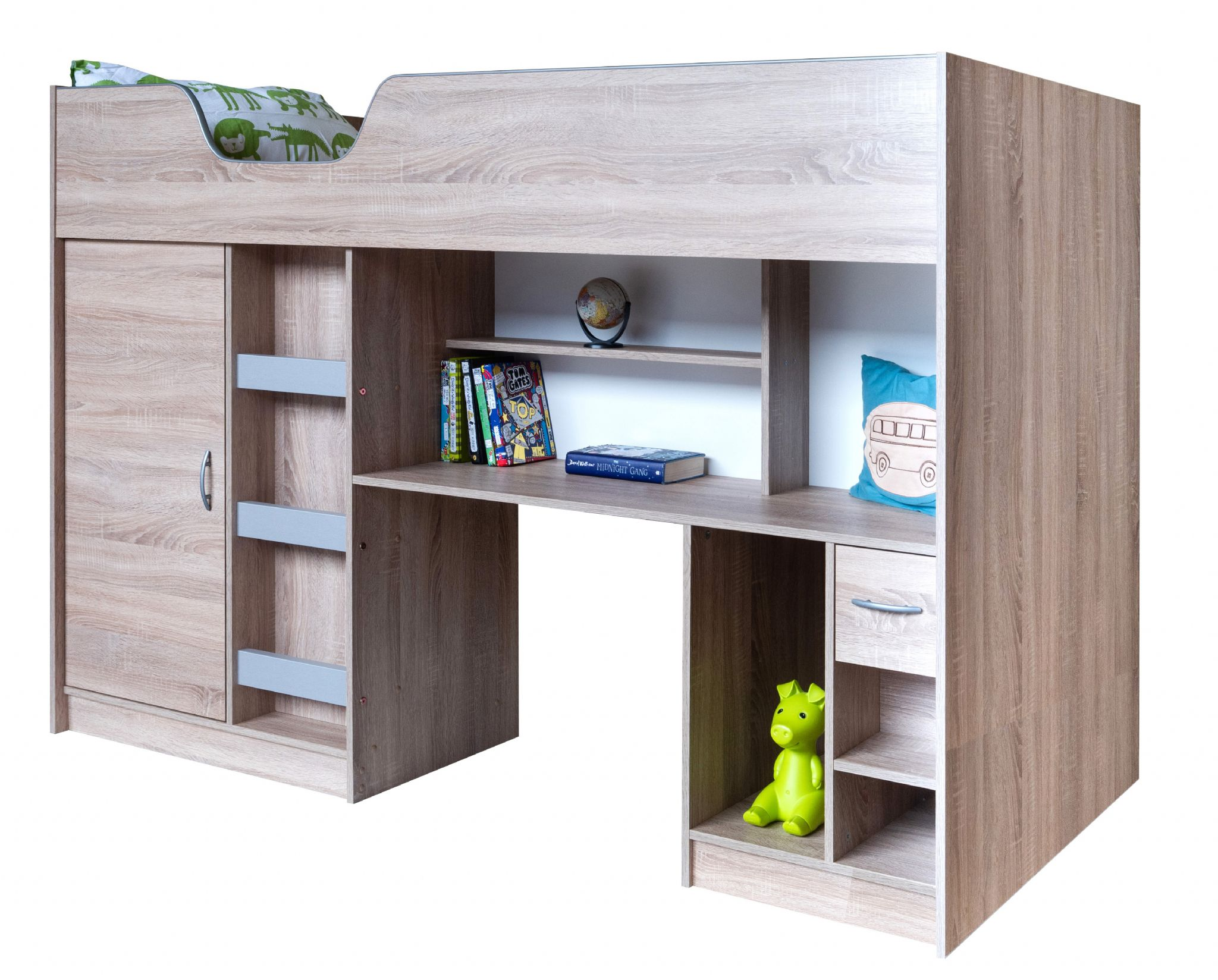 Picture of: High Sleeper Bed Lifestyle With Colour Options Ideal Childrens Safe Storage Bed