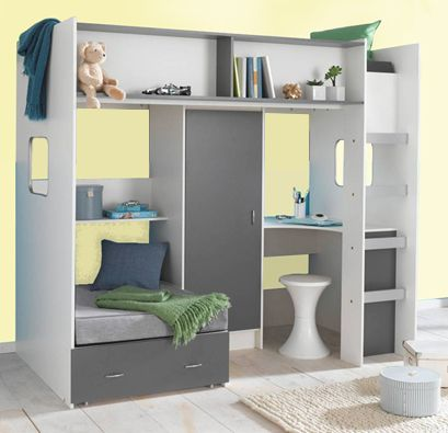 High Sleeper Loft Cabin bed colour options ideal childrens ...